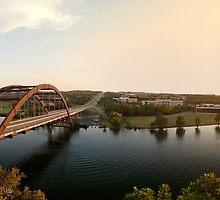 Pennybacker Bridge at Sunset by Andy Heatwole