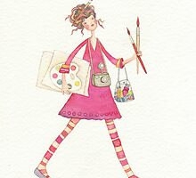 Artist girl by vimasi