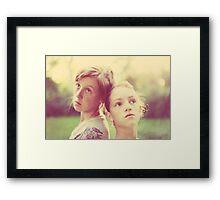 My Girls Framed Print