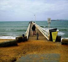 To the End of the Earth - Queenscliff Pier by EdsMum
