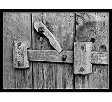 Ancient Door Handle Photographic Print