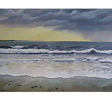 Last Wave at Spanish Point Photographic Print