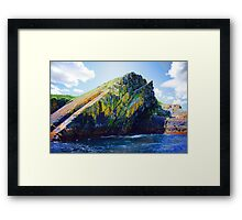 Big Rock Candy Mountain Framed Print