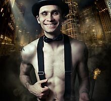 Chicago Man  by Babarobot