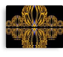 Golden Escher Night Lights  (UF0244) Canvas Print