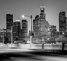 Downtown Los Angeles Skyline by Firesuite