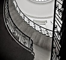 Spiral stairs by Dutchessphotos