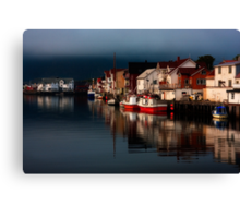 Henningsvaer. Lofoten Islands. Norway. Canvas Print
