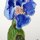 Blue Poppy by Gary Price
