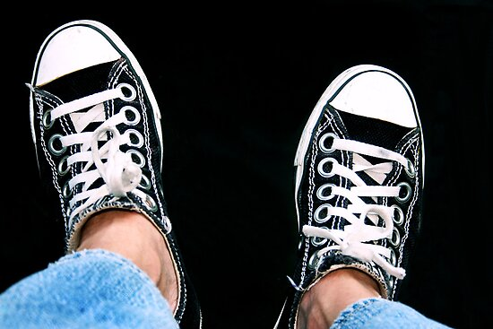 My Chucks by luckylarue