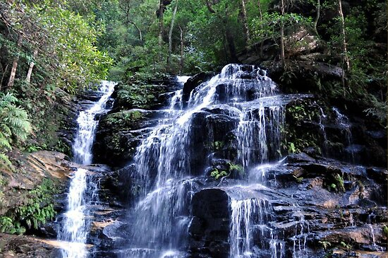 Water fall by Adrian Ross-New