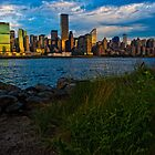 Manhattan in the early Mornig by d700