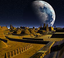 Moon City Alpha by blacknight