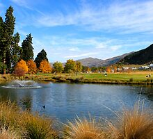 Millbrook Golf Coarse, Queenstown New Zealand by RossHeywood