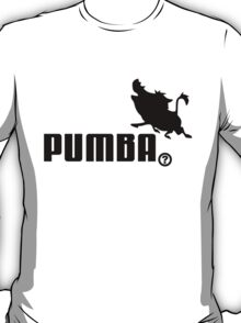 Pumba, Lion King vs. Puma T-Shirt