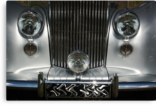 Silver 'Royce Grill by sundawg7