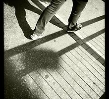 Walk the line by robigeehk