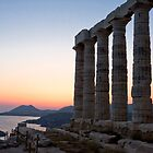 Temple of Poseidon, Cape Sounion, Greece by Revenant