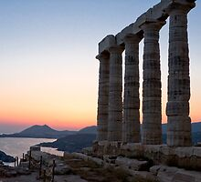 Temple of Poseidon, Cape Sounion, Greece by Stefan Stuart-Fletcher