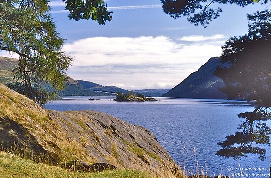 Ullswater II by David Davies