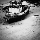 Old Boat - Douro River, Porto, Portugal by Mario Brandao