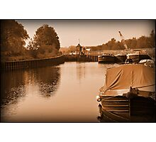 Messing About On The Water Photographic Print