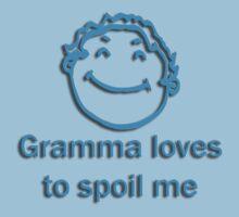 gramma spoil - blue Kids Clothes
