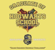 Graduate of Hogwarts School - Hufflepuff by JordanDefty