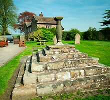 Sun Dial in St Wilfrids Church Ribchester by John Hare