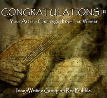 ImageWriting Group Top-Ten Banner by artisandelimage