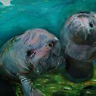 Underwater Greeting by Stevn Dutton