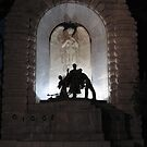 'Adelaide's' very beautiful War Memorial, at night. S.Australia by Rita Blom