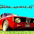 Alfa Romeo Giulia Sprint GT by Martin Lomé