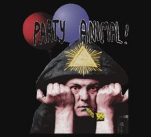 Aleister Crowley Party animal  by julius25