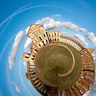Planetary Panorama of Ruzhany Castle Ruins by Dmitry Shytsko