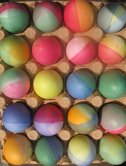 Easter eggs by Sanne Thijs