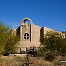 Desert Church by Charmiene Maxwell-batten