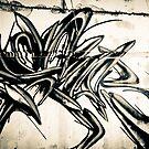 Lillesden Graffiti #1 by Richard Pitman