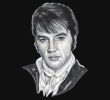 Elvis Presley by MissCake