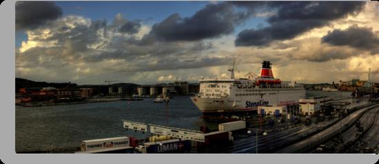 The Gothenburg Port by Dmitry Shytsko