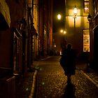 The Secrets Of Gamla Stan At Night by Dmitry Shytsko