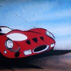 Monaco GTO Painting by Richard Yeomans
