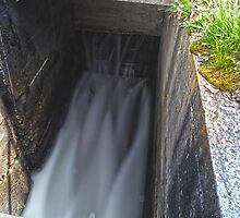 Diversion Dam Chute by Paul Budge