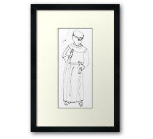 St. Francis Framed Print