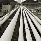 Pipelines, Port Phillip Bay, Melbourne. by clearviewstock