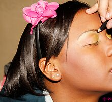 Yellow Eyeshadow by Patsy Castle