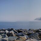 Runswick Bay ~ Panorama, HDR by Sandra Cockayne