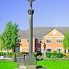 Tall Cross in St Mary's Churchyard, Stretton by Rod Johnson