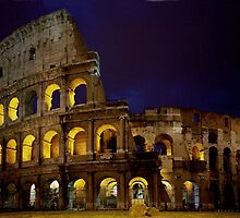 Colosseum lights by Béla Török