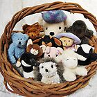 Best Friends in a Basket by Kathilee